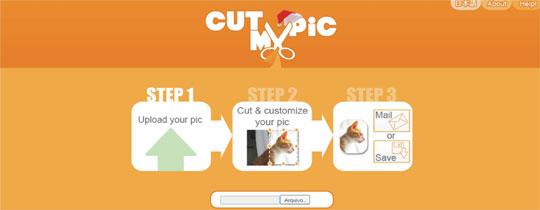 cortar imagens online
