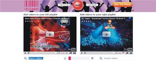 mixar vídeos youtube playlists