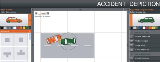 simulações desenhos acidentes online