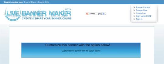 criar banner blog