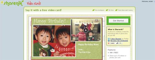 criar cartão online multimídia