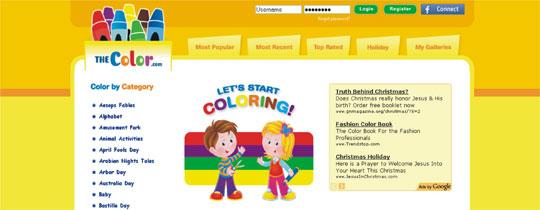 Colorir desenhos online