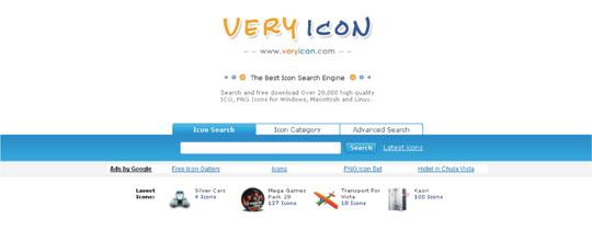 Buscador ícones online
