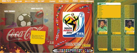 A FIFA fez um álbum de figurinhas da copa do mundo virtual