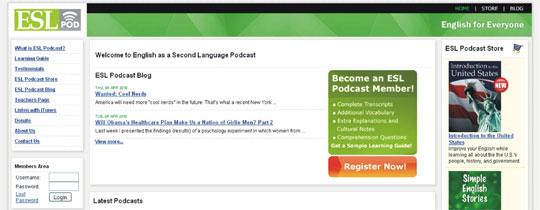 Aprender inglês Podcasts