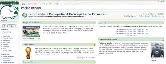 Enciclopédia história Palmeiras