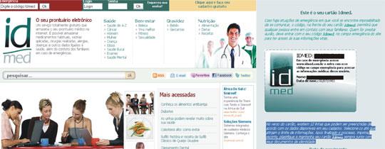 prontuário médico online IdMed