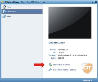 configurar máquina virtual virtualização