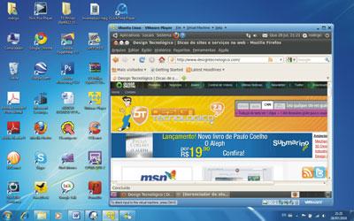 virtualização ubuntu windows 7