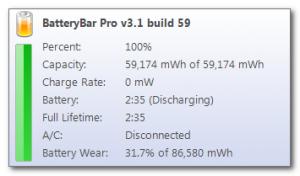 monitorar bateria notebook