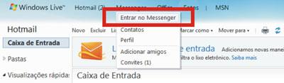 Entrar Hotmail offline MSN