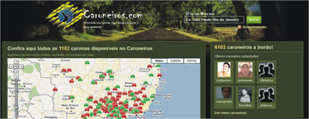 caronas online
