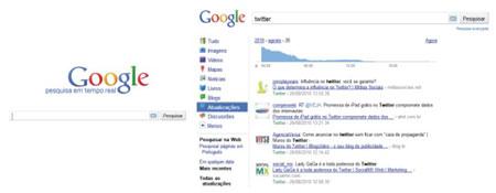 buscas tempo real Google Realtime