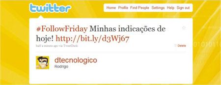 Amigos Follow friday