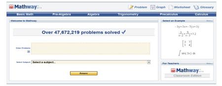 resolver problemas matemática online