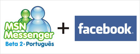 integrar Messenger 2010 redes sociais