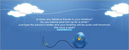 parar seguir perfil twitter temporariamente