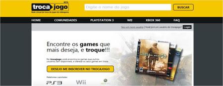 trocar jogos games online TrocaJogo