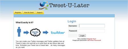 Agendar tuites Twitter