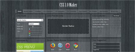 criar códigos CSS3 online