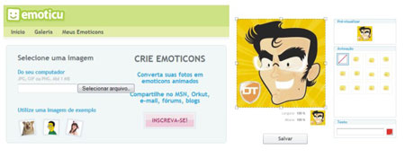 criar emoticons personalizados