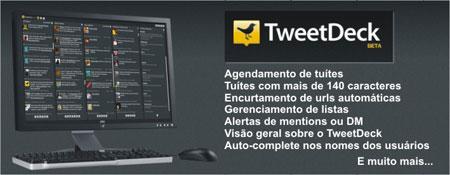 Agendar tuítes encurtar url TweetDeck