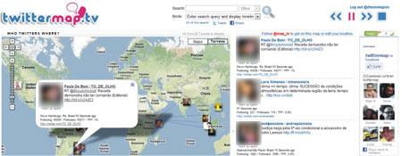 tweets Google Maps