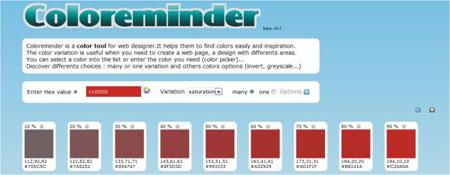 Paleta cores online
