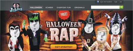 criar vídeo Halloween
