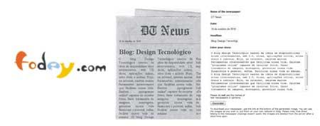 criar notícia jornal