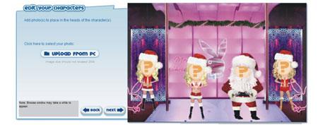 cartões Natal animados online