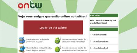 Amigos online Twitter