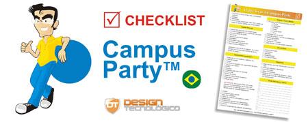 levar Campus Party Checklist