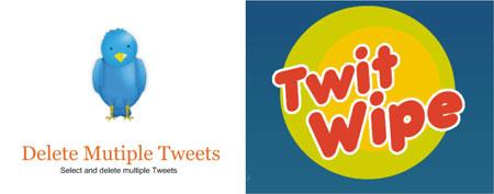 Deletar todos tweets Twitter