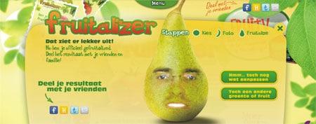 avatar personalizado fruta