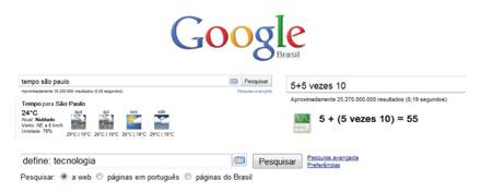 Ferramentas escondidas Google