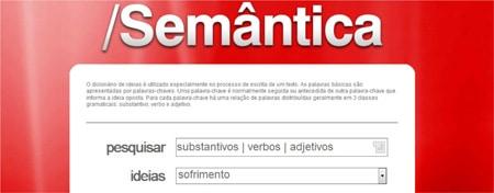 Dicionário de idéias Semântica