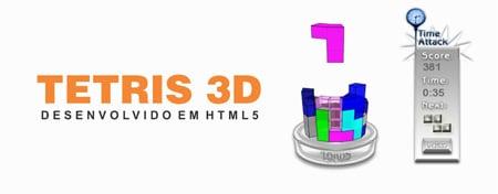 Tetris 3D HTML 5