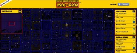 Criar maior jogo Pacman personalizado