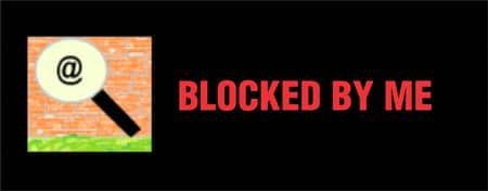 Usuários bloqueados Twitter