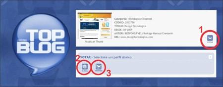 Votação Top Blog Brasil
