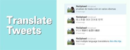 Traduzir tuites idiomas Twitter