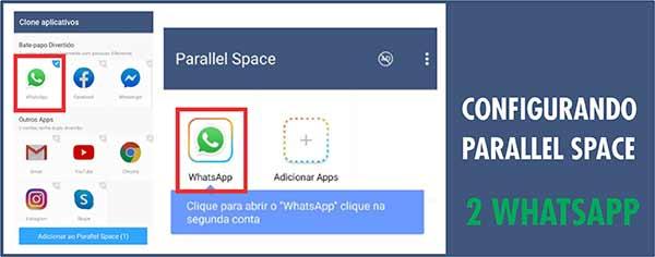2 Whatsapp no mesmo smartphone