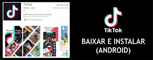 Baixar Instalar TikTok Celular Android