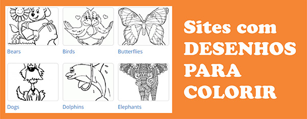 Sites Desenhos Colorir Grátis Imprimir