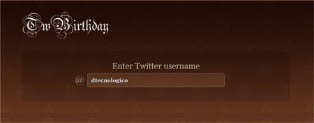 Como saber o dia de aniversário do Twitter com o TwBirthday