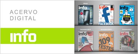 Leia as edições da Revista Info Exame Online